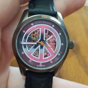 Lucky Brand Watch Peace Sign